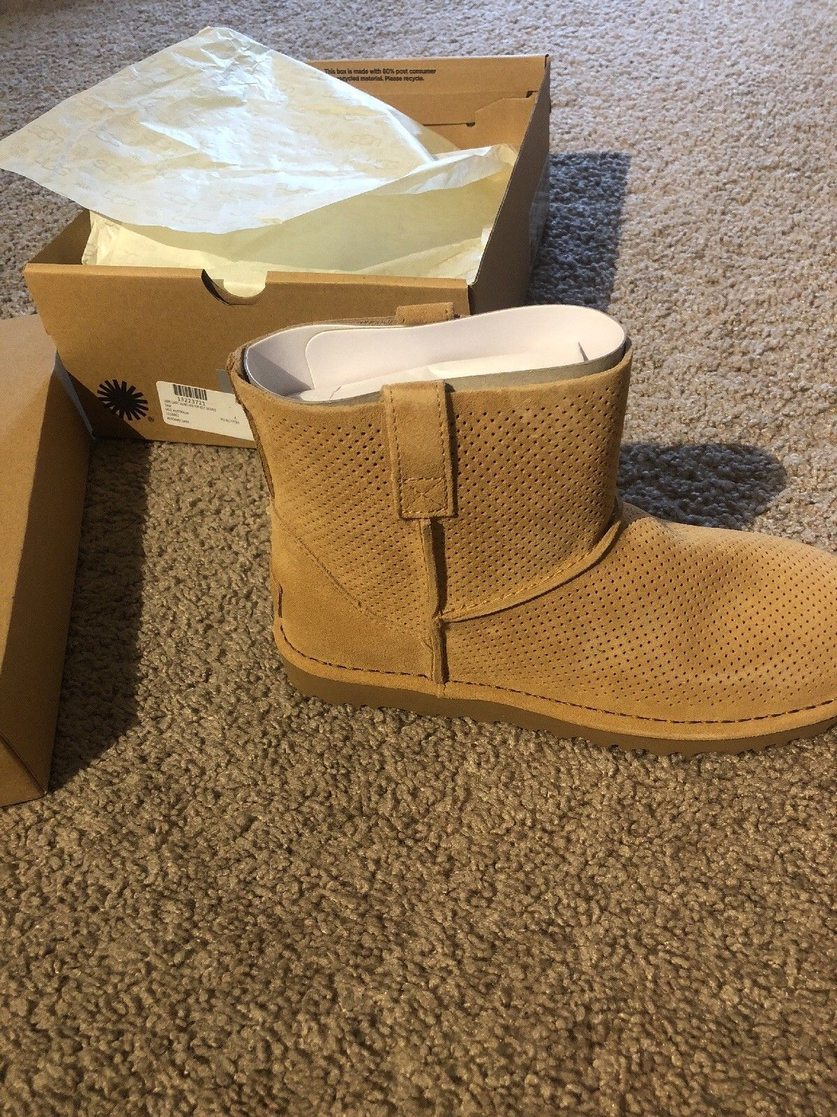 cd8244cca11 NIB Ugg Classic Unlined Mini Perforated and 50 similar items