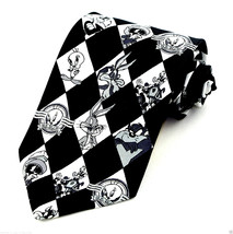Looney Tunes Retro Mens Necktie Licensed Cartoon Tweety Taz Bugs Marvin Neck Tie - $27.67