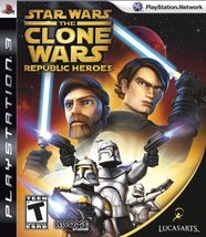 Star Wars The Clone Wars: Republic Heroes - Playstation 3 [video game] - $11.99