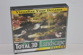 Total 3D Landscape Deluxe CD Set of 3 Discs for PC Version 4  - $19.34