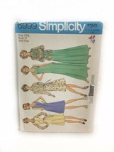 Simplicity 6999 Woman's Dress Or Jumper Shirt Jacket Sewing Pattern Size... - $14.84