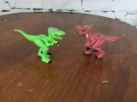Fisher Price Imaginext Shreds The Raptor Toy Dinosaur Velociraptor Green... - $11.88