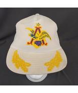Vintage Anheuser Busch Snapback Trucker Mesh Hat Embroidered Logo Made i... - $28.98