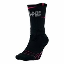 Nike Unisex Elite Versatility Kay Yow Basketball Crew Socks SX7008-010 L... - $16.99