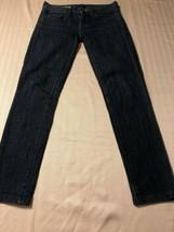 J. Crew Women's Jeans Toothpick Stretch Blue Skinny Ankle Jr. Size 24 X 28 - $38.61