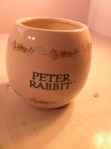 2003 TELEFLORA --BEATRICE POTTER VASE / PLANTER--PETER RABBIT---FREE SHI... - $22.46