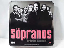 Sealed NOS 2004 Cardinal HBO The Sopranos Adult Trivia Game & Collectibl... - $7.08