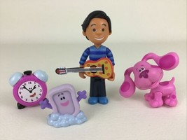 Blues Clues Play Along Friends Figures 5pc Lot Josh Tickety Magenta Just Play  - $39.55