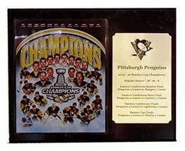 Pittsburgh Penguins 2016 Stanley Cup Champions 8x10 Team Photo Plaque wi... - $34.29