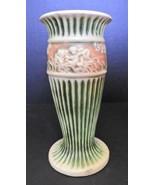 "Roseville Donatello Pattern - 8"" Tall Vase #1 - $50.64 CAD"