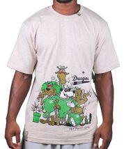 LRG Mens Black White Natural Drugout Kids Weed Smoking Animals T-Shirt NWT image 4