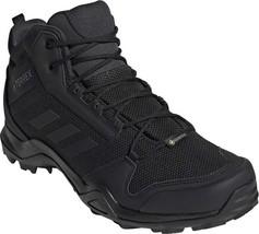 adidas Terrex AX3 Mid GORE-TEX Hiking Shoe (Men's) in Black/Black/Carbon... - $159.34
