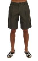 New $390 Dolce & Gabbana Men Gray Cotton Crown Shorts It54-Xl - $143.73
