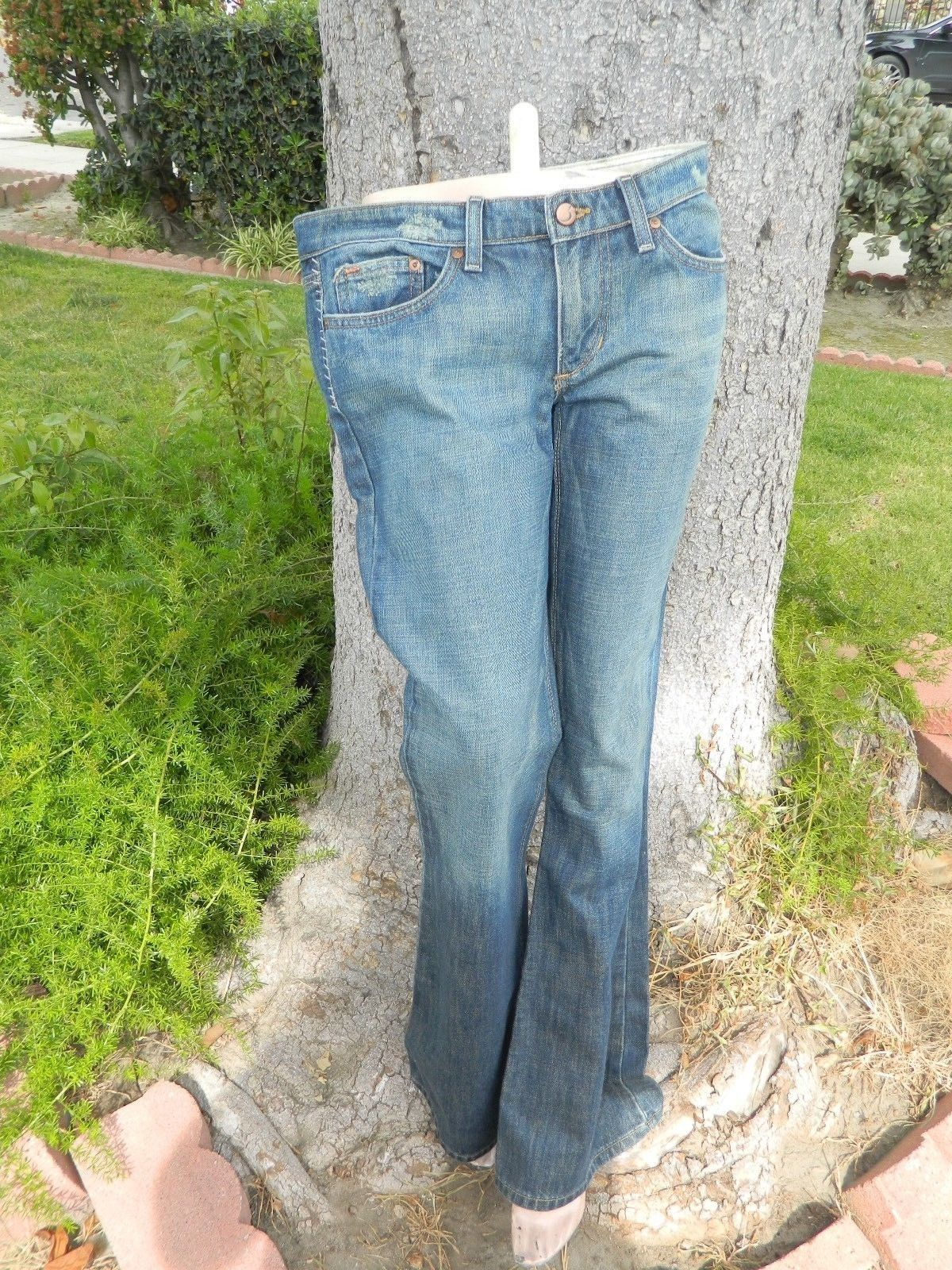 JOE'S VINTAGE SERIES 1971 WOMEN'S JEANS EMBROIDERED POCKETS Sz 31