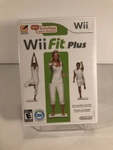 Wii Fit Plus (Wii, 2009) with Case Tested Works Complete Good! Condition! - $11.29