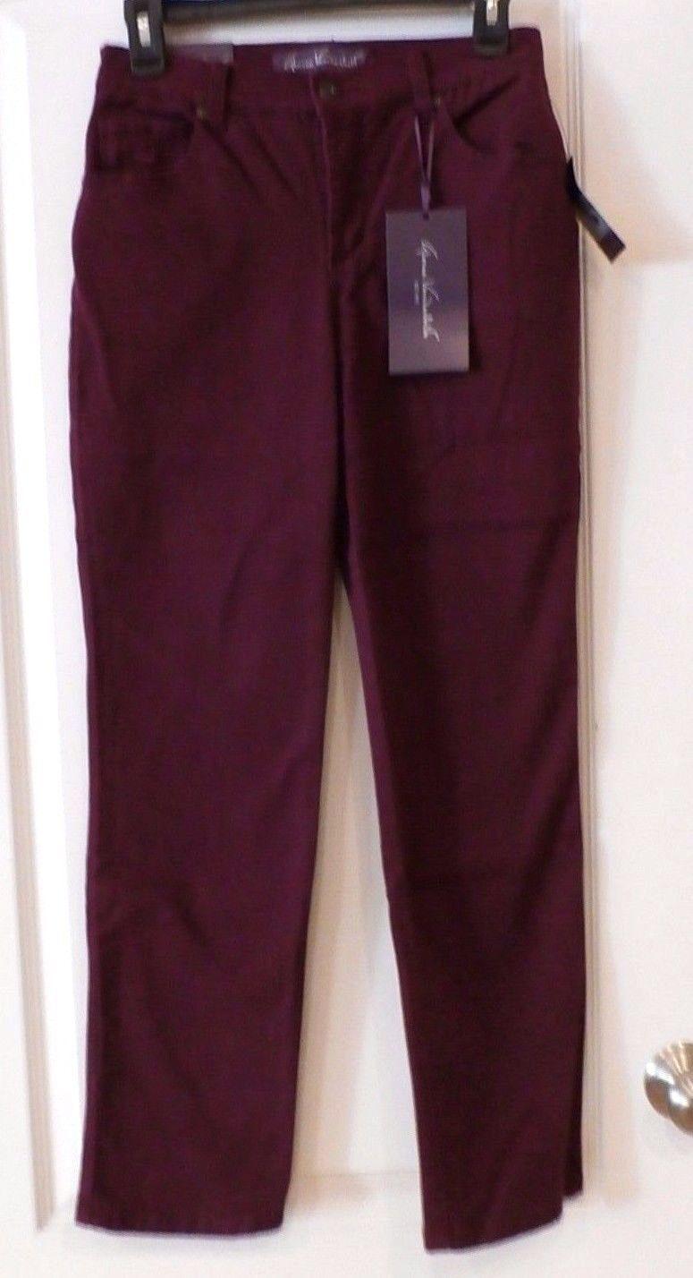 Gloria Vanderbilt Dark Blue Jeans Size 18 Tall Inseam 34 Amanda Denim NWT