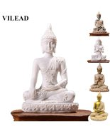 Nature Sandstone Thailand Buddha Miniature Home Decor - $9.22