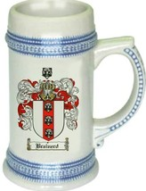 Brainerd Coat of Arms Stein / Family Crest Tankard Mug - $21.99