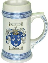 Cathert Coat of Arms Stein / Family Crest Tankard Mug - $21.99