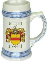 Cuthberd Coat of Arms Stein / Family Crest Tankard Mug - $21.99