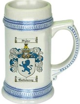 Gallowray Coat of Arms Stein / Family Crest Tankard Mug - $21.99