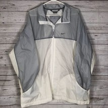 Nike Jacket Windbreak Mens Black and White Size XL - $35.36