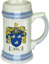 Hailey Coat of Arms Stein / Family Crest Tankard Mug - $21.99