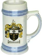 Hildebrandt Coat of Arms Stein / Family Crest Tankard Mug - $21.99