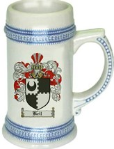 Keil Coat of Arms Stein / Family Crest Tankard Mug - $21.99