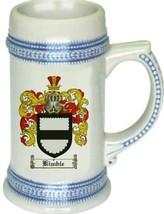 Kimble Coat of Arms Stein / Family Crest Tankard Mug - $21.99