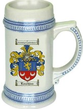 Lauchlan Coat of Arms Stein / Family Crest Tankard Mug - $21.99
