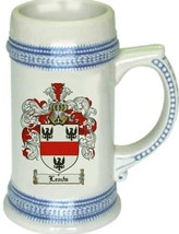 Leads Coat of Arms Stein / Family Crest Tankard Mug - $21.99