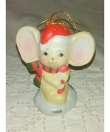 CVS Ceramic Mouse Christmas Ornament - 1994 COLLECTIBLE - $0.00