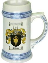 Morlay Coat of Arms Stein / Family Crest Tankard Mug - $21.99