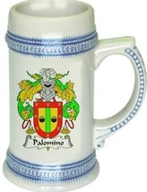 Palomino Coat of Arms Stein / Family Crest Tankard Mug - $21.99