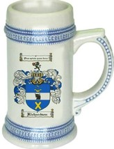 Richardson Coat of Arms Stein / Family Crest Tankard Mug - $21.99