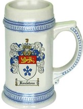 Roulstone Coat of Arms Stein / Family Crest Tankard Mug - $21.99