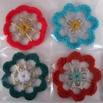 6 Recycled Can Tab Christmas Ornaments - $30.00