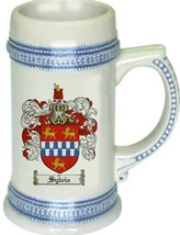 Sylvia Coat of Arms Stein / Family Crest Tankard Mug - $21.99