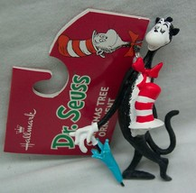 """Hallmark Dr. Seuss Cat In The Hat 3"""" Holiday Christmas Tree Ornament New - $14.85"""