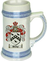 Wadge Coat of Arms Stein / Family Crest Tankard Mug - $21.99