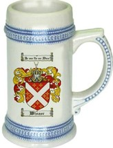 Winzer Coat of Arms Stein / Family Crest Tankard Mug - $21.99