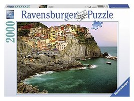 Ravensburger Cinque Terre, Italy - 2000 Piece Puzzle [Toy] Ravensburger - $33.50