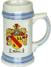 Wyttam Coat of Arms Stein / Family Crest Tankard Mug - $21.99