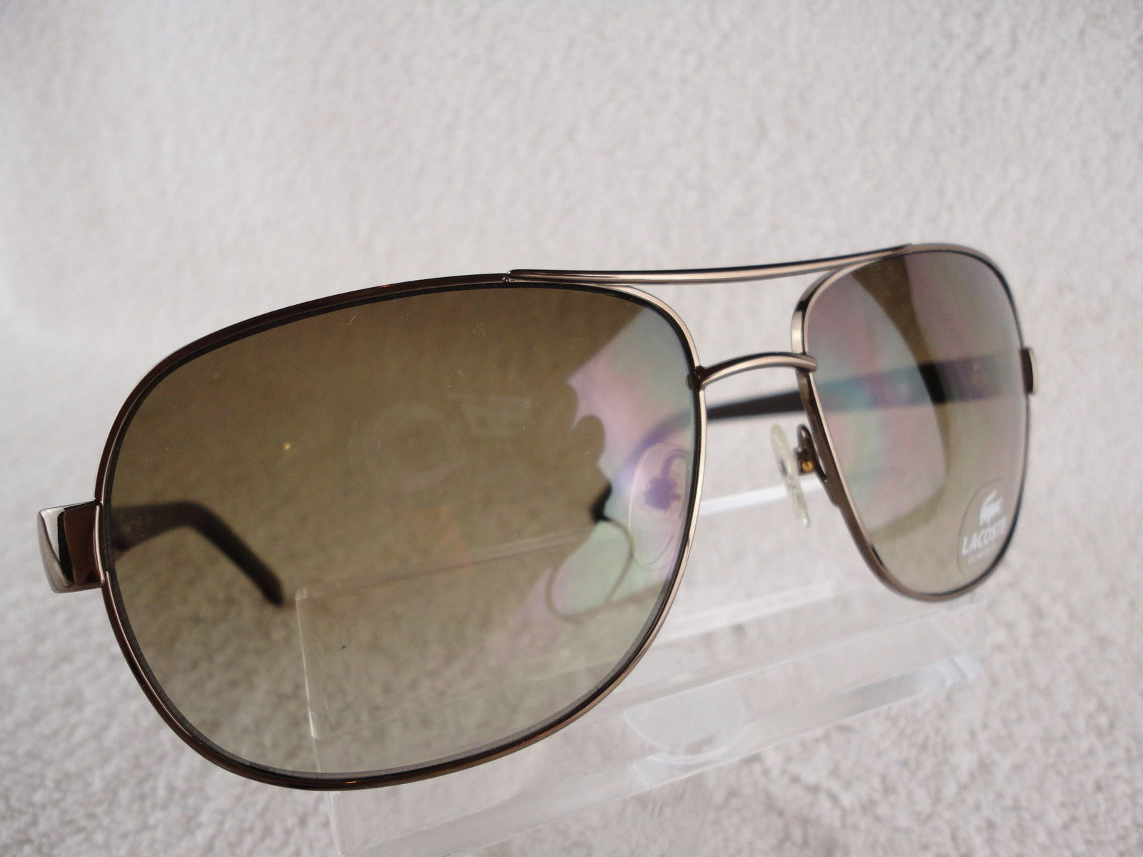 296c588b4865 Lacoste L138 S (210) Shiny Brown 60X15 135mm and 37 similar items