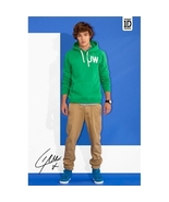 One Direction Liam Poster 1D Printed Signature Blue Background New 61 x ... - $12.00