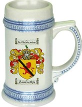 Anernethie Coat of Arms Stein / Family Crest Tankard Mug - $21.99