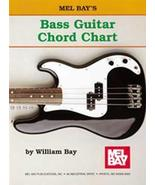 Bass Guitar Chord Chart  - $5.75