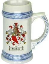 Bamberg Coat of Arms Stein / Family Crest Tankard Mug - $21.99