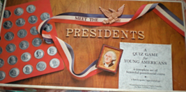 Meet the Presidents a Quiz Game for Young Americans  Vintage 1965 - $9.95